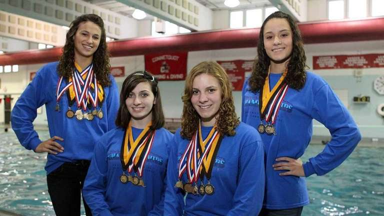 Connetquot's relay team won the 200 IM and
