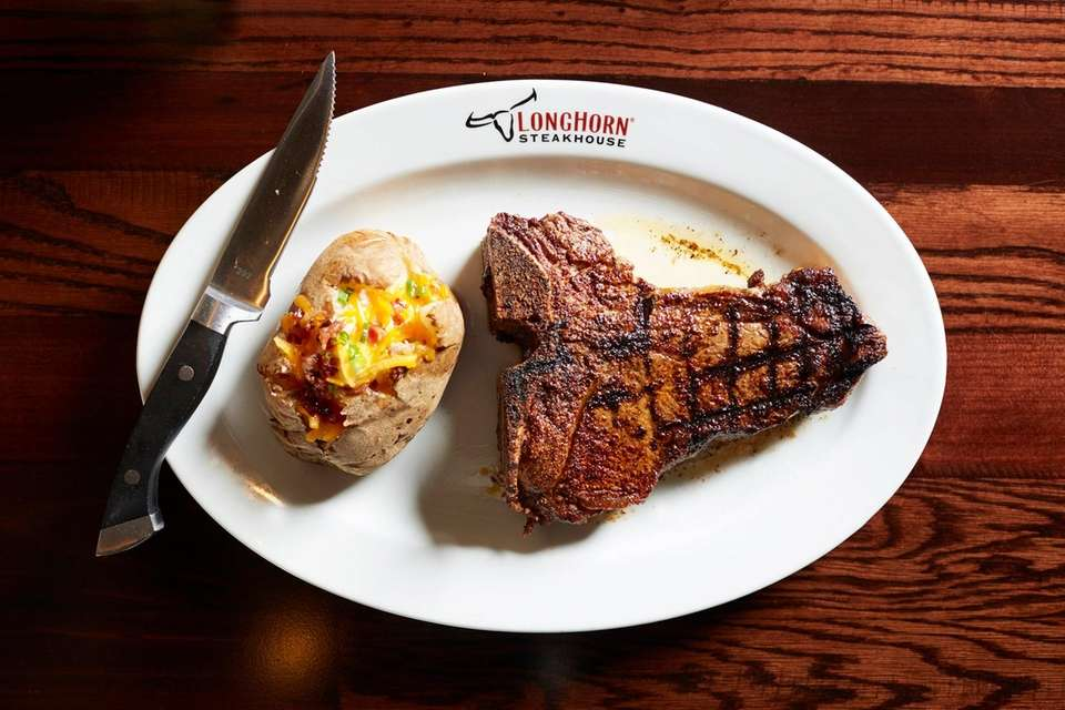 LongHorn Steakhouse, Farmingdale: This moderately-priced steakhouse has opened