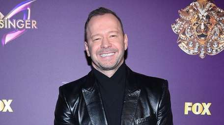"""Donnie Wahlberg attends """"The Masked Singer"""" premiere in"""