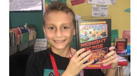 Gavin Kurtz of Idle Hour Elementary School, Oakdale,
