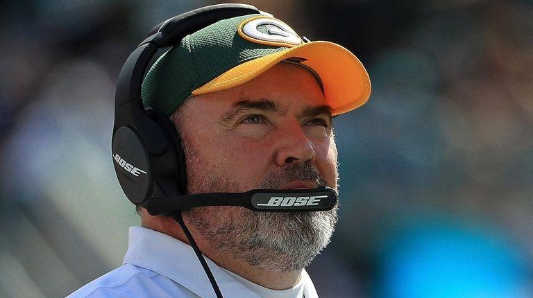 Former Green Bay Packers head coach Mike McCarthy