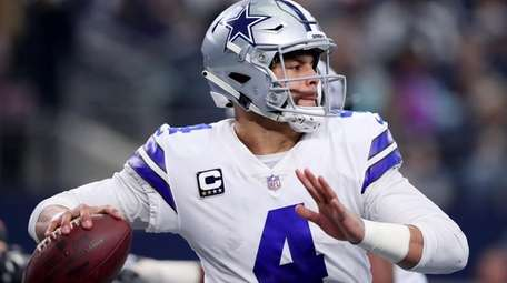 Dak Prescott and the olayoffs-bound Cowboys will likely