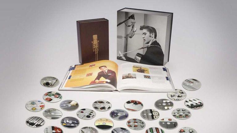 Elvis Presley 's 711 master recordings . The