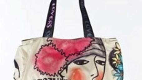 This Harajuku Lovers tote is featured at a