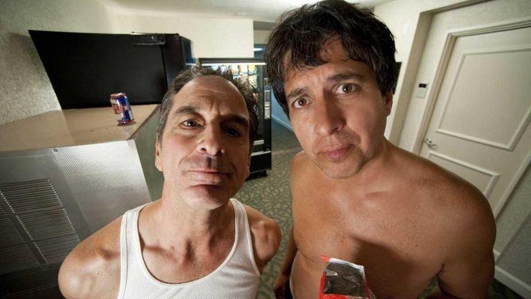 Jon Manfrellotti and Ray Romano star in the