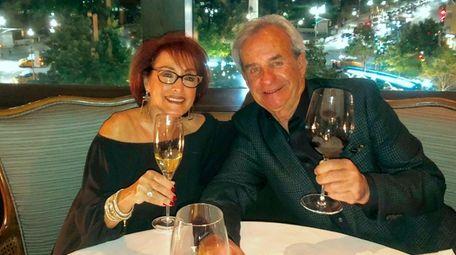 Sue and Bob Weinstein of Syosset celebrate their