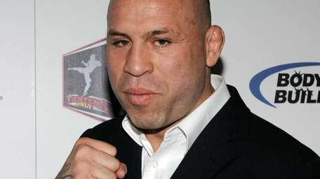 Mixed martial artist Wanderlei Silva at the second