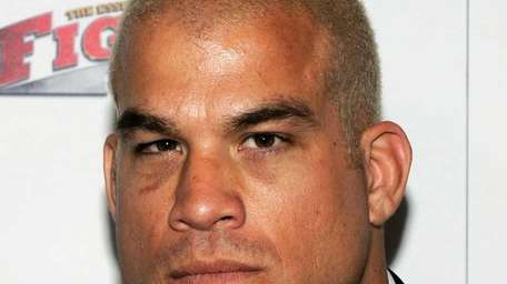 Mixed martial artist Tito Ortiz arrives at the