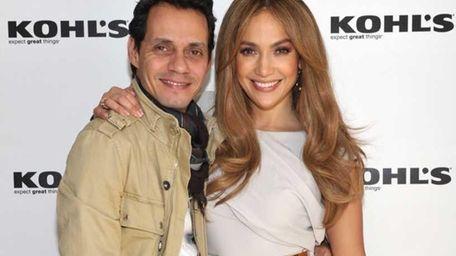 Jennifer Lopez and Marc Anthony. (December 2010)