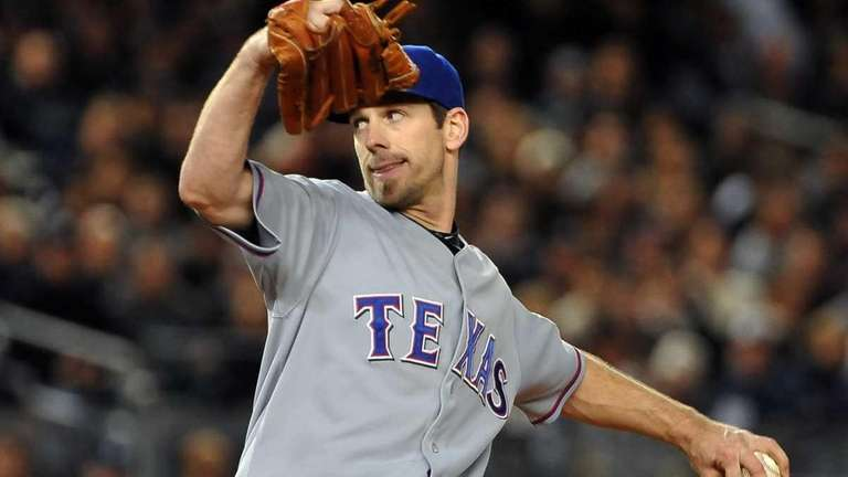 Free agent pitcher Cliff Lee.