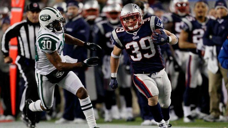 Danny Woodhead #39 of the New England Patriots