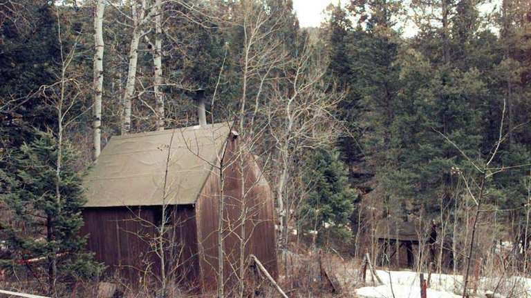 The property of Unabomber Theodore Kaczynski -- but