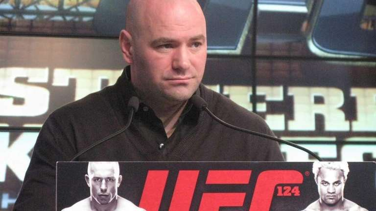 UFC president Dana White announced that UFC 131