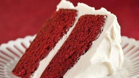 Red Velvet cake. Undated