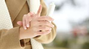Trapping moisture with hand lotion is one of