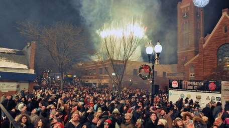 Patchogue officials canceled the village's New Year's Eve