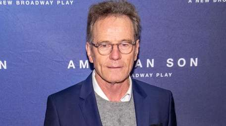 Bryan Cranston at the opening night of