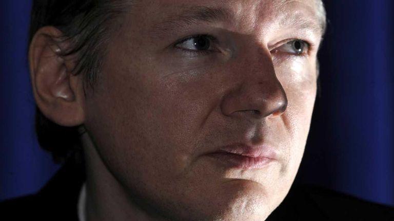 WikiLeaks founder Julian Assange. (Oct. 23, 2010)
