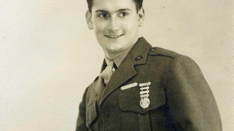 Michael J. Brennan, a World War II veteran