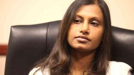 Seemona Sumasar spent six months in jail after