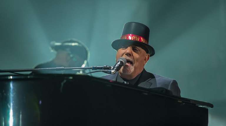 Billy Joel performs late Monday during his New