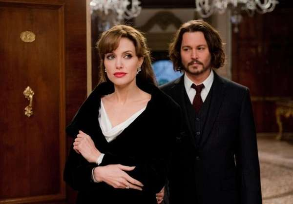 "Angelina Jolie and Johnny Depp star in ""The"
