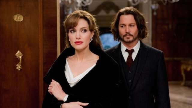 Angelina Jolie and Johnny Depp star in