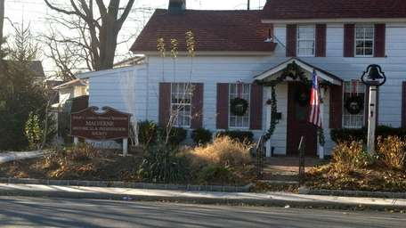 The Malverne Historical Society purchased and restored the