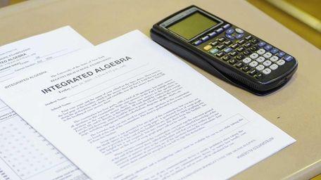 A Regents exam.