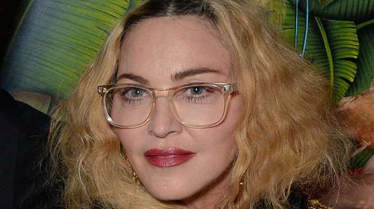 Madonna attends the Moschino H&M London launch party