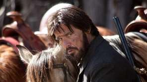 Josh Brolin plays Tom Chaney in the 2010