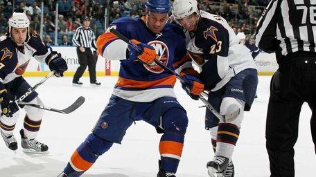 Zenon Konopka of the New York Islanders