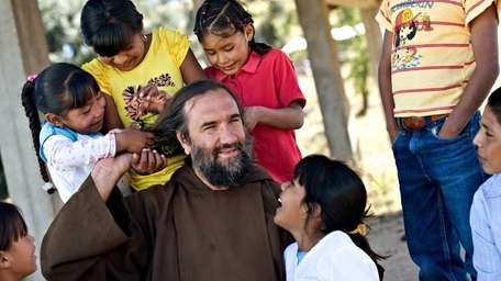 Father David Beaumont, a Franciscan friar lets the