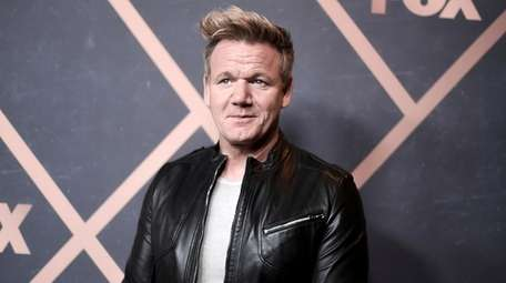 Gordon Ramsay attends the 2017 Fox Fall Party
