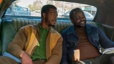 Stephan James, left, and Brian Tyree Henry star