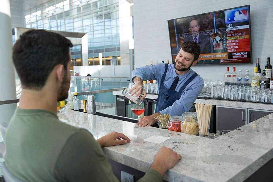 The Club airport lounges offer a day pass