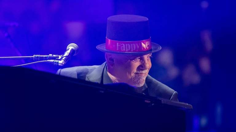 Billy Joel at his New Year's Eve performance