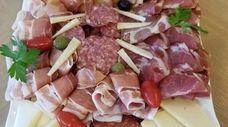 Cold antipasto plate from Nostro Posto Pizzeria &