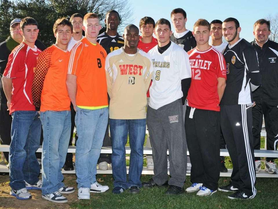 The 2010 All-Long Island boys soccer team, as