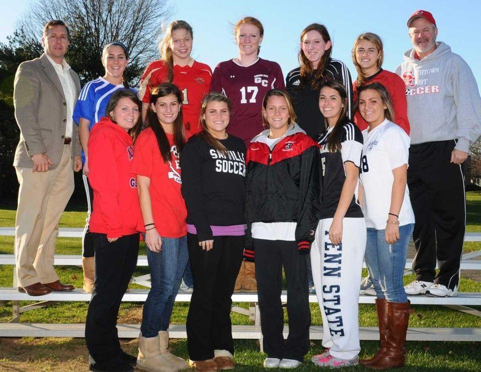 The 2010 All-Long Island girls soccer team, as
