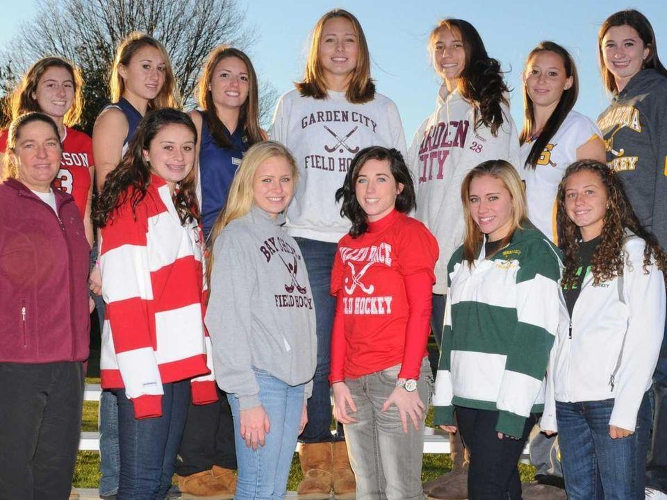 The 2010 All-Long Island field hockey team, as