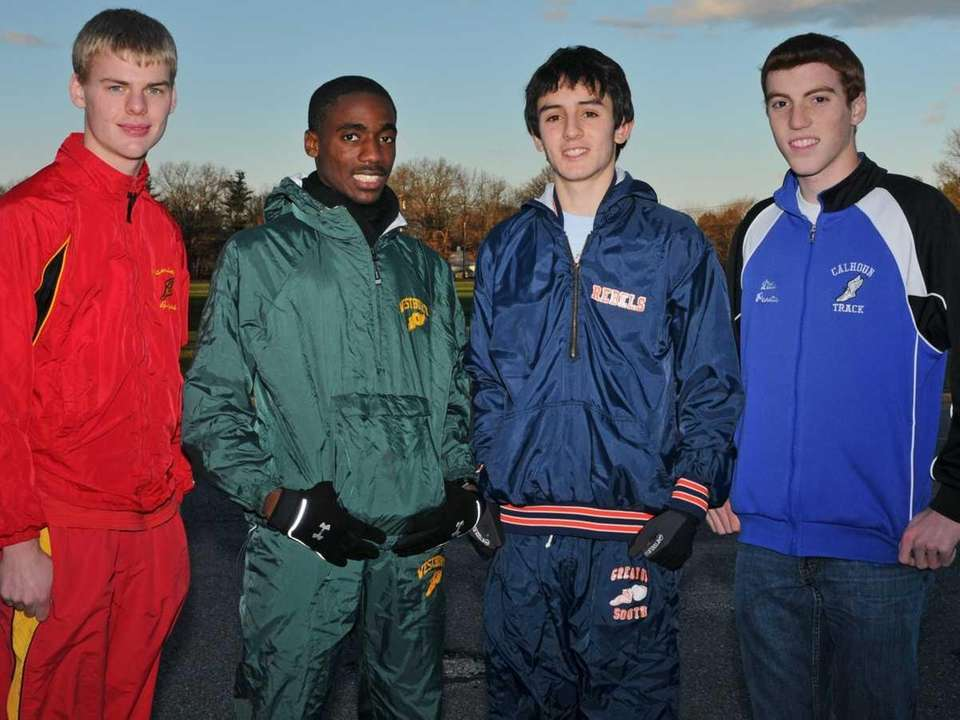 2010 ALL-LONG ISLAND BOYS CROSS COUNTRY TEAM Second