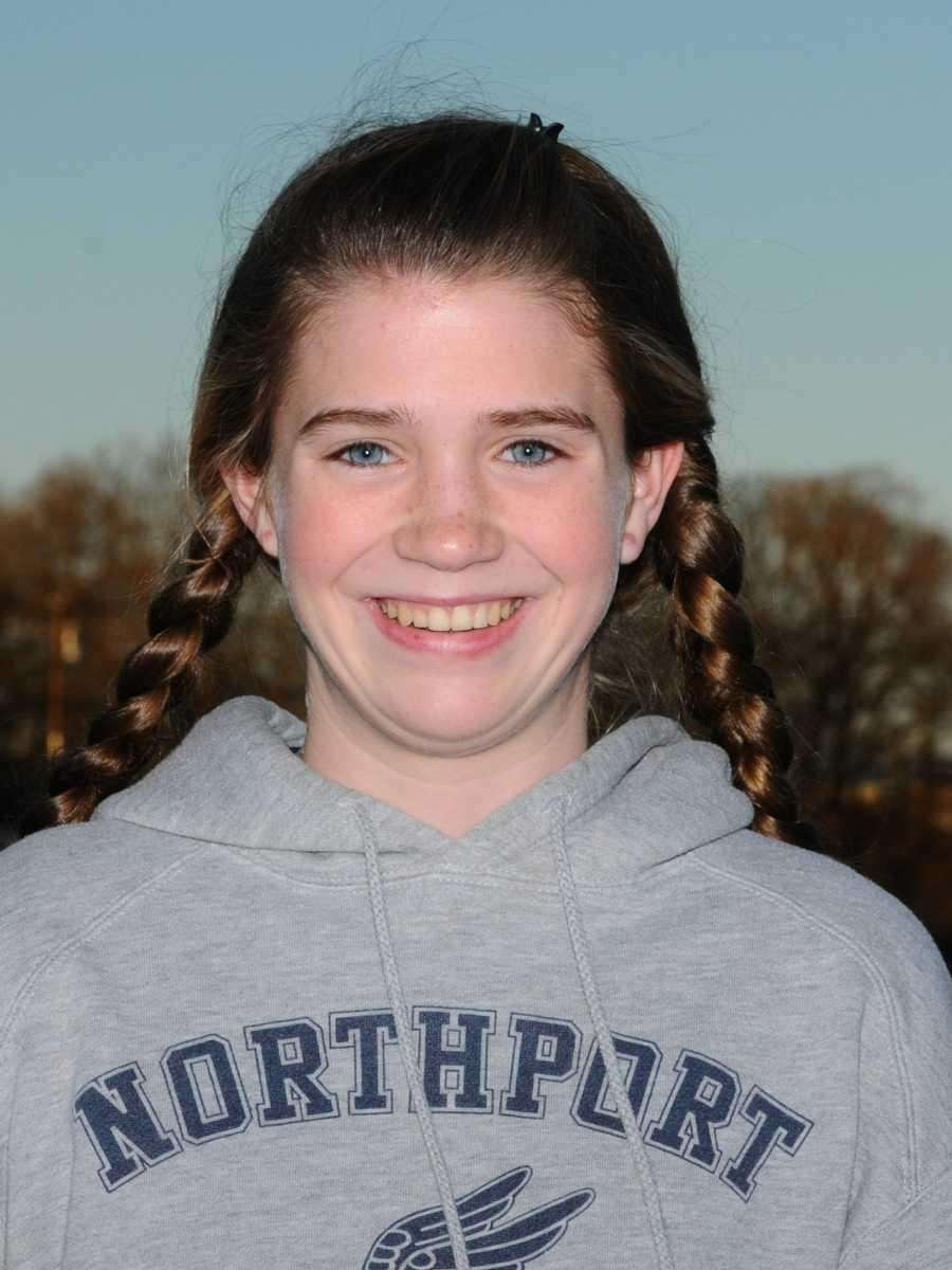 BRIGID BRENNAN Northport Freshman Brennan took second at
