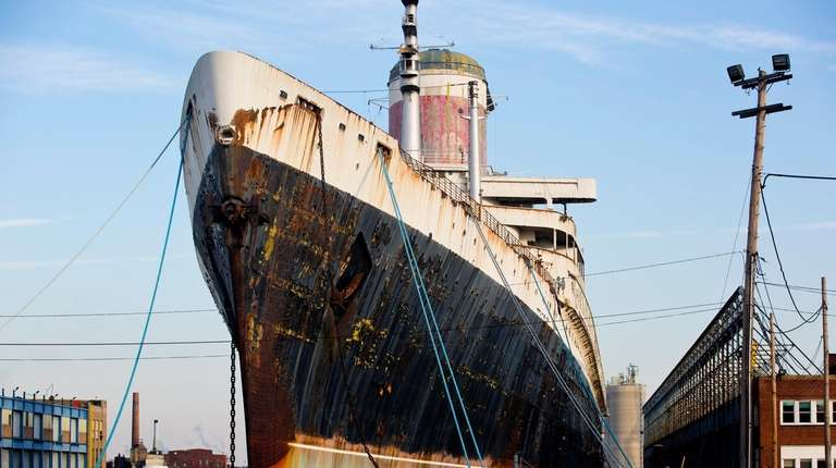The SS United States, seen here on Jan