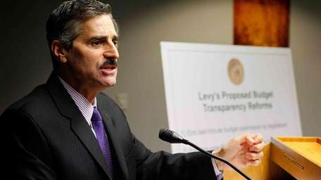 Suffolk County Executive Steve Levy (Dec. 1, 2010)