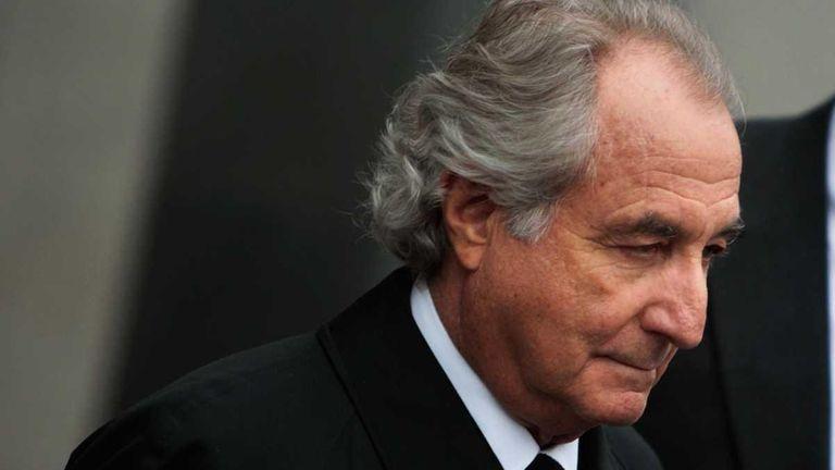 Bernard Madoff leaves federal court in Manhattan. (March