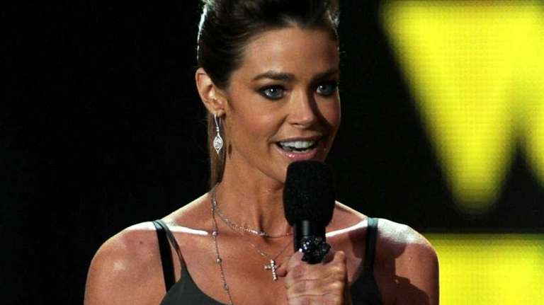 Actress Denise Richards speaks onstage during Spike TV's