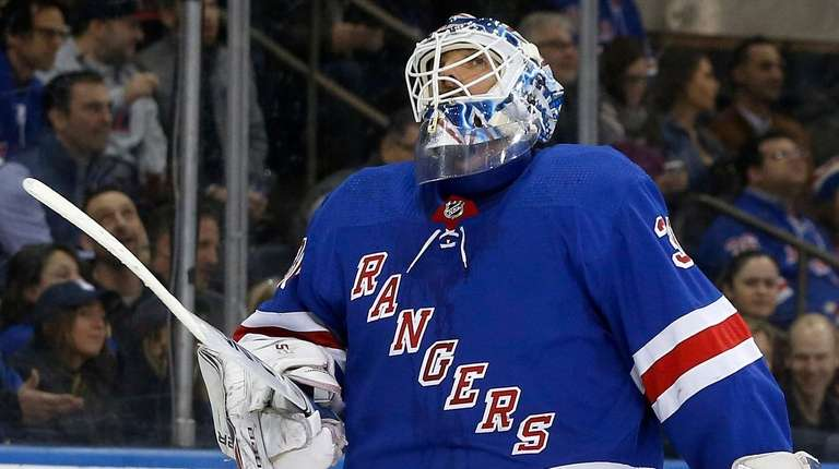 Following All Star Selection Rangers Henrik Lundqvist Pulled After