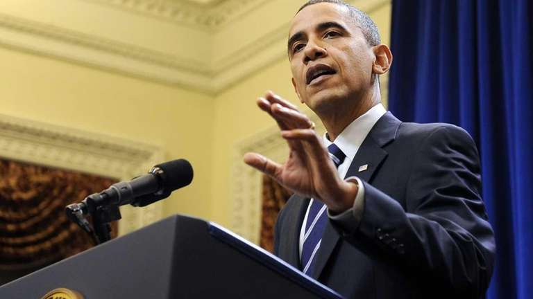Obama discusses the tax-cut deal on Dec. 6