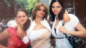 A New Jersey woman, center, who disappeared at